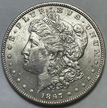 1897 Morgan Silver Dollar - High Grade Philadelphia Mint