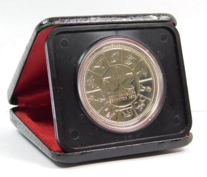 1978 Canada $1 Silver Specimen - XI Commonwealth Games - In Original Mint Case