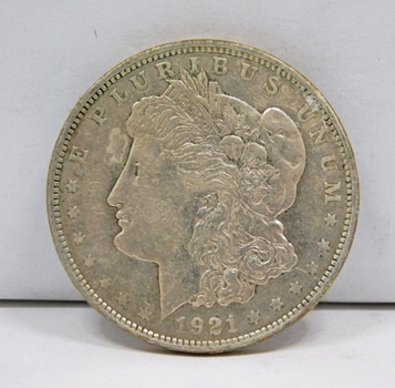 1921-D Morgan Silver Dollar - Denver Minted
