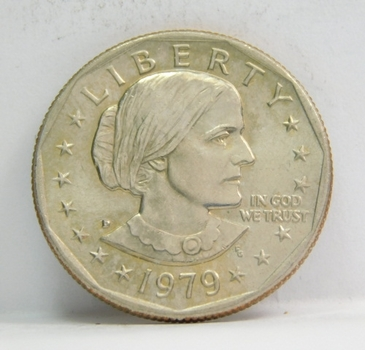 1979-D Susan B Anthony Dollar - High Grade Coin with Excellent Detail - First Year of Issue