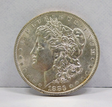 1883-O New Orleans Minted Morgan Silver Dollar - High Grade w/Nice Luster