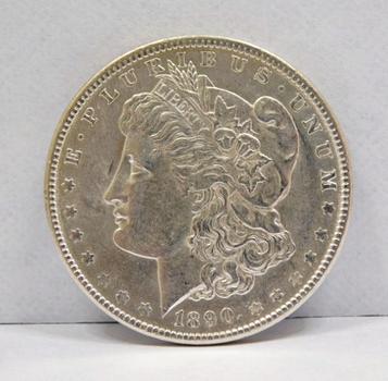 1890 Morgan Silver Dollar - Nice Higher Grade Philadelphia Mint