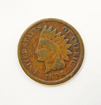 1894 US Indian Head Cent-Original Condition