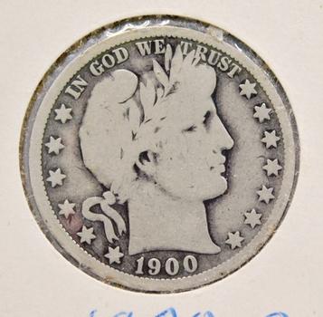 1900-O Silver Barber Half Dollar