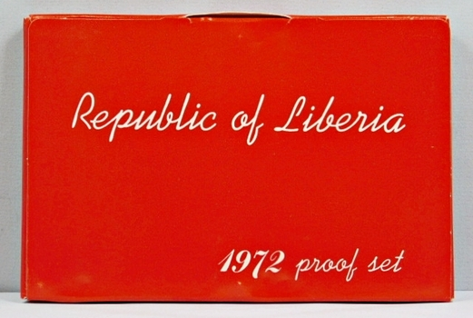 1972 Republic Of Liberia Proof Set - 6 Coins - Only 4,866 Minted