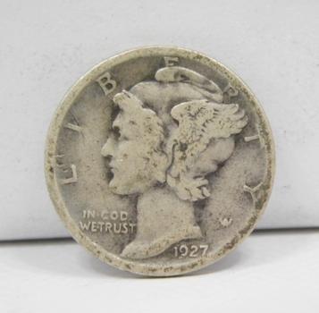1927-D Silver Mercury Dime -  Denver Minted