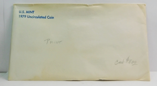 1979 United States Mint Uncirculated Coin Set - Both P and D Mint Marks
