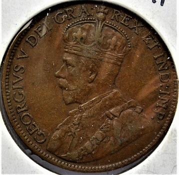 Canada 1919 1 Cent KM-21