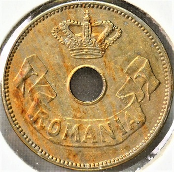 Romania 1905 10 Bani KM-32