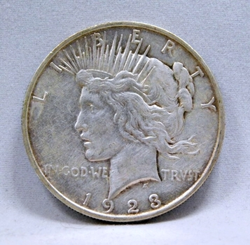 1923-D Peace Silver Dollar - Denver Minted