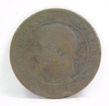 1856 France 10 Centimes - Napoleon III