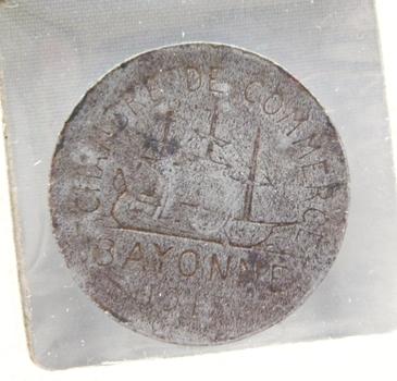 1917 Bayonne Chamber of Commerce 10c Trade Token