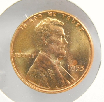 1955-P/D/S Gem Red Uncirculated Lincoln Cents! All 3 Are High Quality & Hand Picked From Original Rolls! Pretty!