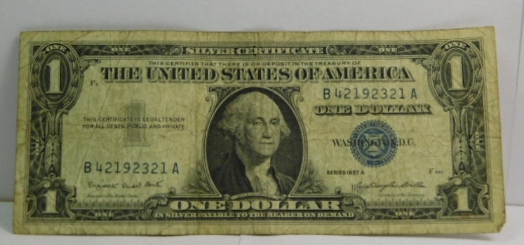 Series 1957A $1 Silver Certificate