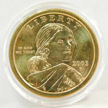 2003-P Brilliant Uncirculated Sacagawea Commemorative Dollar - Philadelphia Minted