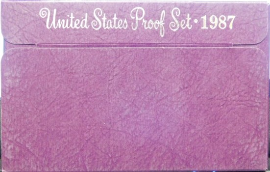 1987 United States Mint Proof Set With Original Box - M0016