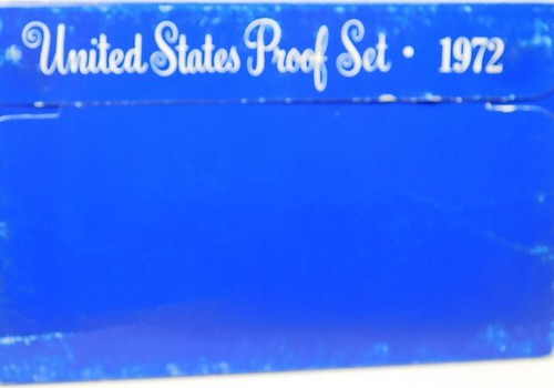 1972 United States Proof Set with Original Box
