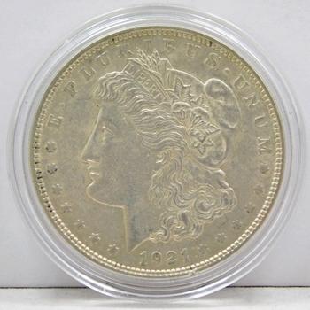 1921 High Grade Morgan Silver Dollar - Nice Detail