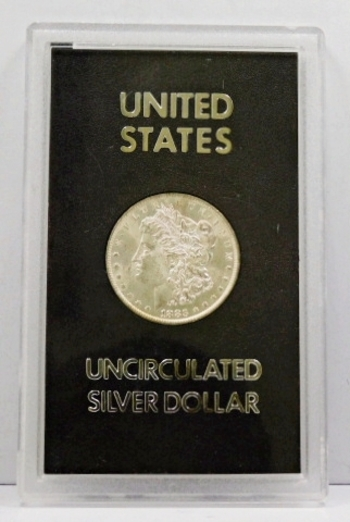 RARE - 1883-O Brilliant Uncirculated Morgan Silver Dollar Minted in New Orleans in a GSA Holder