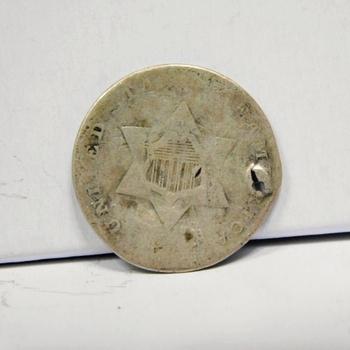 18__ Silver Three Cent Piece
