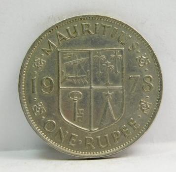 1978 Mauritius One Rupee