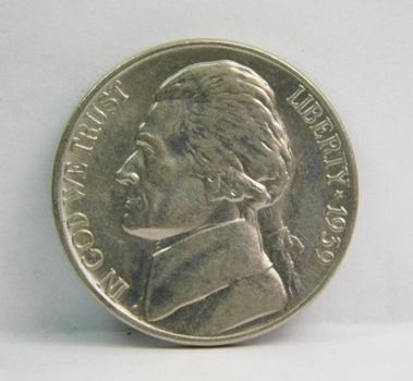 1939 Brilliant Uncirculated Jefferson Nickel