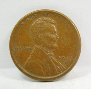 1919-S Lincoln Wheat Cent - Excellent Detail on a High Grade Coin