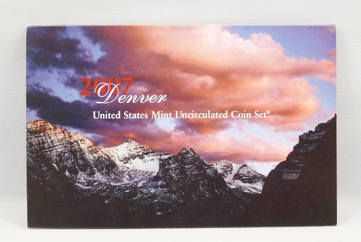 2007 United States Mint Uncirculated Coin Set - Denver - In Original Mint Packaging