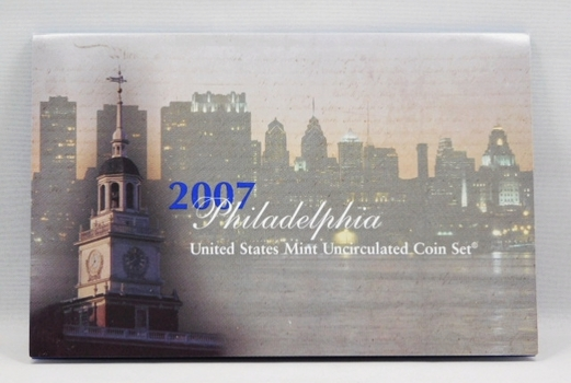 2007 United States Mint Uncirculated Coin Set - Philadelphia - In Original Mint Packaging