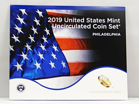2019 United States Mint Uncirculated Coin Set - Philadelphia - In Original Mint Packaging