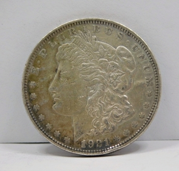 1921-D Morgan Silver Dollar - Nice Detail - Denver Minted
