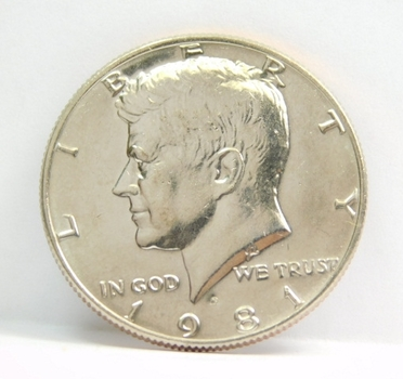 1981-P Kennedy Half Dollar - High Grade Coin with Excellent