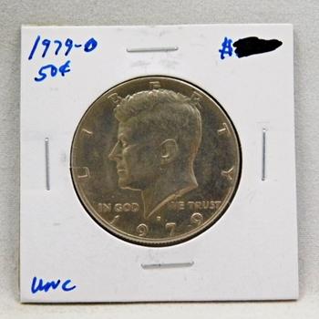 1979-D Kennedy Half Dollar Very High Grade