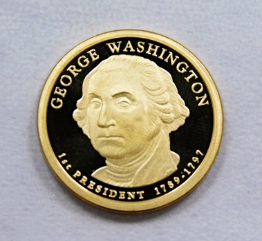 2007-S George Washington Presidential One Dollar Proof Coin