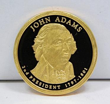 2007-S John Adams Presidential One Dollar Proof Coin