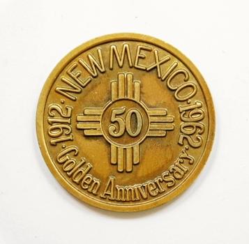 1912-1962 New Mexico Golden Anniversary