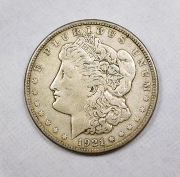 1921-S Morgan Silver Dollar 90% Silver