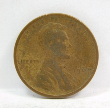 1909 Lincoln Wheat Cent - First Year of Issue - Nice Detail