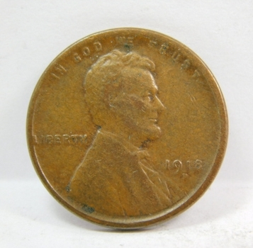 1918-D Lincoln Wheat Cent