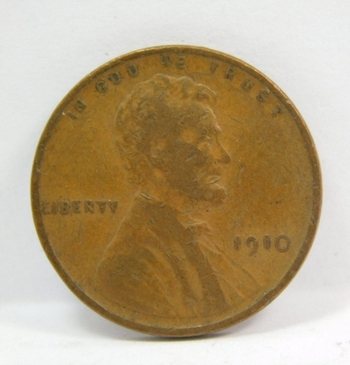 1910 Lincoln Wheat Cent