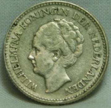 1928 Netherlands Silver 1/2 Gulden