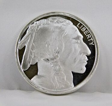 .999 Fine Silver Proof Buffalo 1 Oz. Round