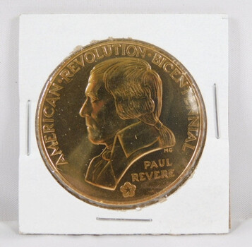 American Revolution Bicentennial Medal - The Shot Heard Around the World - Uncirculated Condition
