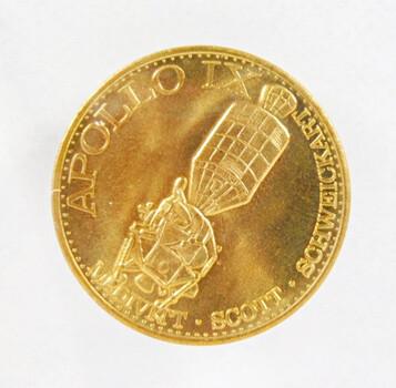 Apollo IX Moon Medal