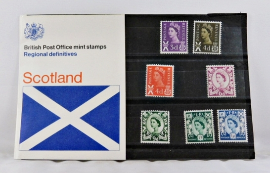 British Post Office Mint Stamps*Seven Stamps*Scotland