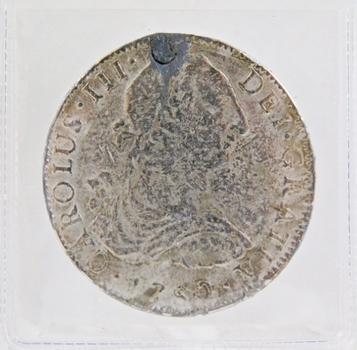 Charles III Eight Real 1780 Replica