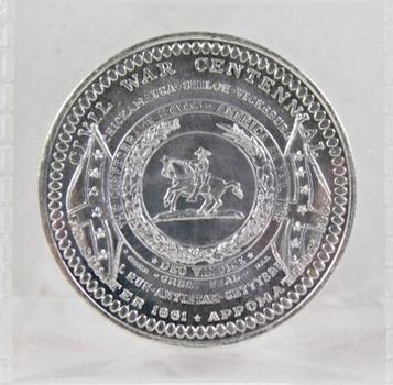 Civil War Centennial Medallion*1961-1965