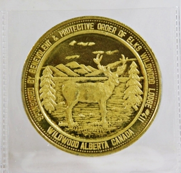 Coin World Medallion*Protective Order of Elks