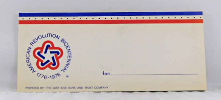 Consecutive Numbered 1976 $2 U.S. Bicentennial Federal Reserve Notes in Bicentennial Booklet