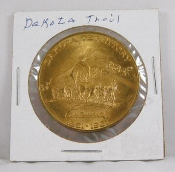 Dakota Territory Centennial - 1861/1961 - Good for 50c in Trade - South Dakota Souvenir Coin